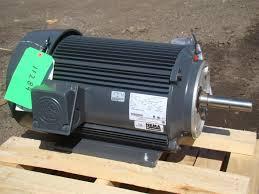 Hp Us by Us Motors Nidec 3 Phase Electric Motor 20 Hp 2950 Rpm Model