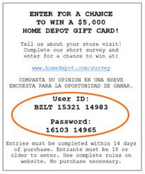 home depot black friday promo home depot utilizes sweepstakes to encourage survey participation