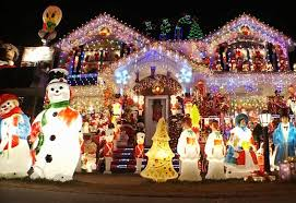 christmas houses exclusive say watt four houses blinding christmas lights