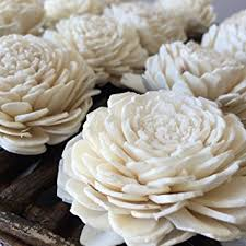 sola wood flowers one dozen wholesale home kitchen