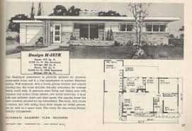 Midcentury Modern House Plans - vintage house plans 1950s mid century modern and modest antique