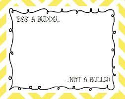 bee a buddy not a bully