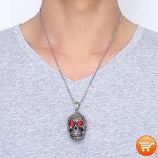 skull pendant necklace images Sugar skull pendant necklace bargain love png