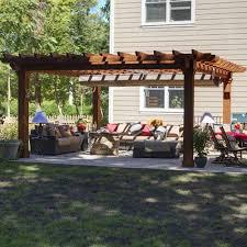 pergola shade canopy country lane gazebos