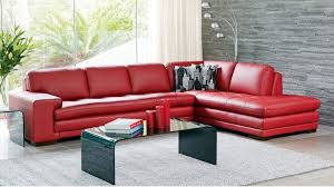 Dylan Leather Corner Sofa With Chaise Lounges Harvey Norman - Sofa bed modular lounge 2