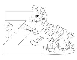 animal alphabet letter coloring worksheet from kiboomu worksheets