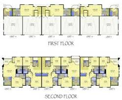Multi Unit Apartment Floor Plans Multi Unit Apartment Building Plans House Plans