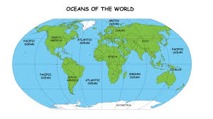 World Map With Continents And Oceans by Continents And Oceans Time For Kids Vocabulary Areas Region Or