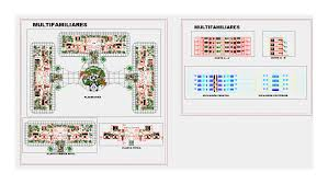 Multifamily Plans by Multifamily Plans 3 Towers In Autocad Drawing Bibliocad