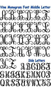 initial fonts for monogram monogram letters brycen monograms cricut and fonts