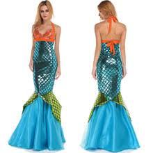 Mermaid Costume Halloween Popular Blue Mermaid Costume Buy Cheap Blue Mermaid Costume Lots
