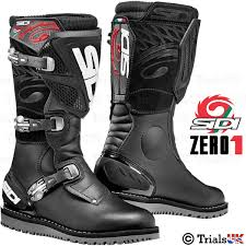 off road motorcycle boots new sidi zero 1 trials boots offroad trail adventure ebay
