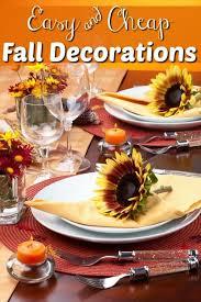 Best 25 Cheap fall decorations ideas on Pinterest