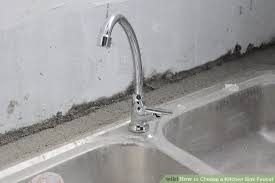 kitchen sink and faucet how to choose a kitchen sink faucet 5 steps with pictures