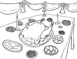 turkey dinner coloring page 28 images thanksgiving coloring