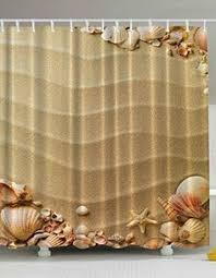 Circo Tree House Shower Curtain Nautical Seashell Seabreeze Fabric Shower Curtain Polyester 72
