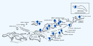 map of the bvi islands map sail caribbean