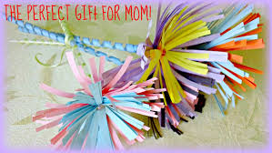 Cute Homemade Mothers Day Gifts by Kids Crafts Mother U0027s Day Funky Flowers Gift Youtube