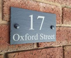 front door signs uk personalized awesome numbers plaque plaques