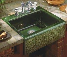 Artisan Sinks And Faucets Beautiful Kitchen With Artisan Fleur De Lis Sink As Seen On Diy