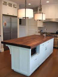 kitchen butcher block island ikea diy top cart home depot powell