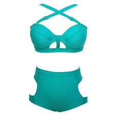 cool green bustier high waist maverlly bustiers