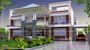 indian two story house plans