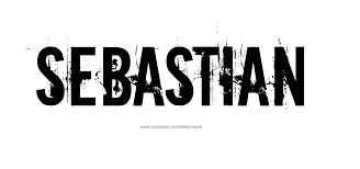 sebastian name tattoo designs
