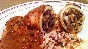 cuisiner calamar encornets farcis aux tomates confites et aux olives envie de cuisiner