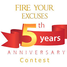 thanksgiving month fire your excuses celebrates 5 years this month with a