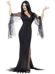 Scary Halloween Costumes Ladies Original Morticia Addams Costume Style Morticia