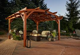 pergolas foundation your outdoor living space official