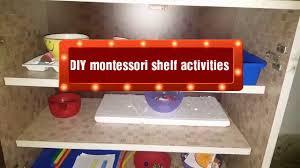 Montessori Bookshelves by Diy Montessori Inspired Shelf Activities For Toddlers Diy