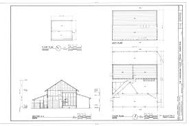 Garage Floor Plans With Loft File Floor Plan Of Garage And Barn Loft Plan And Section Of Barn