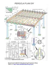 pergola design ideas pergola plans pdf free pergola plans download