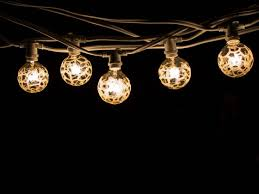 white string lights bulbrite 15 socket string lights with marble globe bulbs