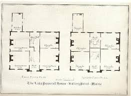 georgian floor plans floor plan of pepperell house laid out