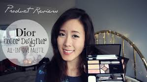 dior color designer all in one palette review youtube