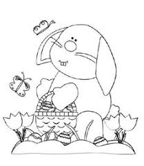 easter bunny coloring page crafts and worksheets for preschool