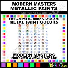 modern masters metallic metal paint colors modern masters