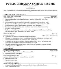 resume masters degree public librarian resume sample resumecompanion com resume