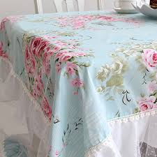 beautiful table cloth design shabby chic tablecloth