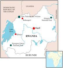 Rwanda World Map by Rwanda Amazing Africa Safaris