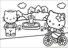 kitty coloring pages 5