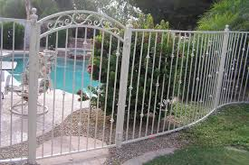 decorative iron pool fencing exles sun king fencing