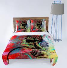 owl duvet cover set home design ideas