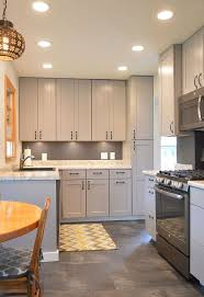 kitchen remodel with gray cabinets hometalk