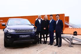land rover chinese land rover makes a splash with suv launch gallery marketing