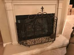 Texas Fireplace Screen by Fireplace Screen Reduced The Woodlands Texas Home Accessories