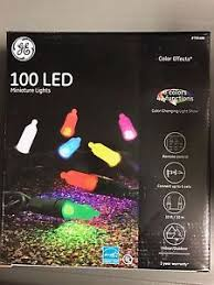 ge color effects led color changing christmas lights ge color effects 100 count 33 ft multi function color changing led mini